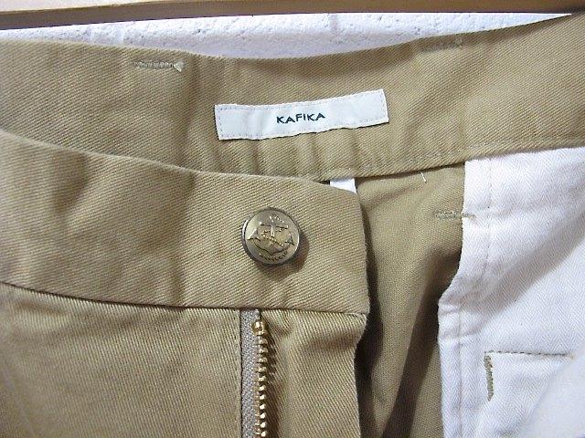 KAFIKA[カフィカ]-チノパンツ / kfk080