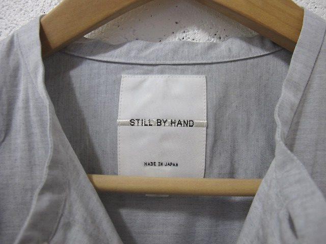 STILL BY HAND[スティル バイ ハンド]-クルーネックシャツ / SH0563