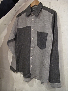 FRANK LEDER-FRANK LEDER ( MIXED STRIPED LINEN SHIRTS )