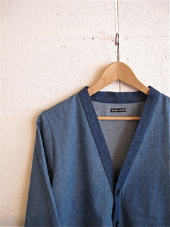 FRANK LEDER-FRANK LEDER ( GERMAN DENIM CARDIGAN )