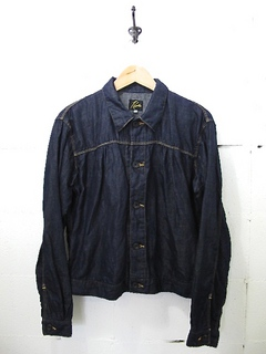 NEEDLES-Gathered Jean Shirt - Jac