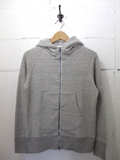 CURLY-RAFFY ZIP PARKA