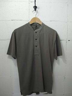 Nigel Cabourn-ヘンリーネックTシャツ / Moss Stitch